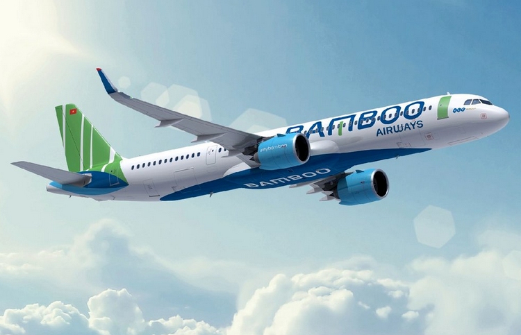 самолет Bamboo Airways